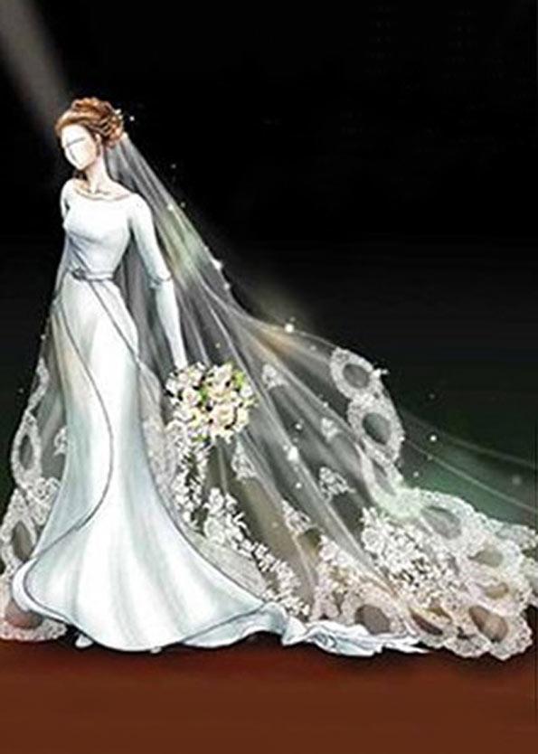 """posible diseño del vestido de novia de """"bella swan"""" para amanecer"""