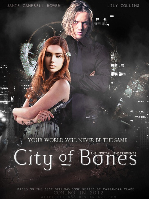 CLARY Y JACE POSTER