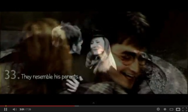 HARRY Y HERMIONE - BAILE