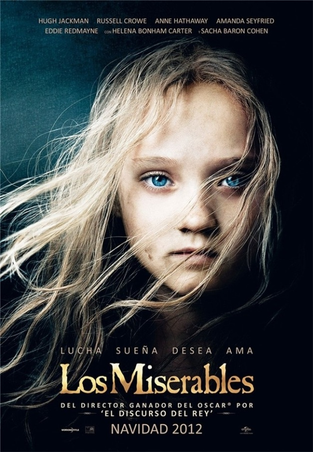 POSTER DE LOS MISERABLES 2012