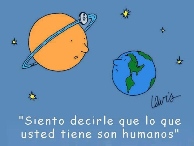 ENFERMEDAD DE LA TIERRA HUMANOS
