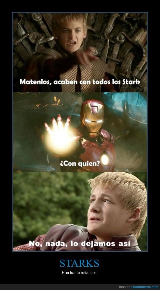 STARKS vs IRONMAN