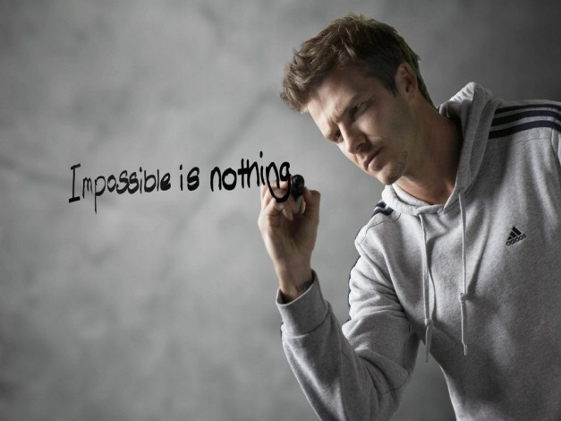 DAVID BECKHAM - IMPOSSIBLE IS NOTHING