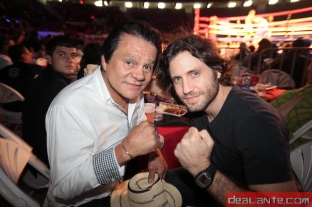 Edgar Ramírez y Roberto Durán