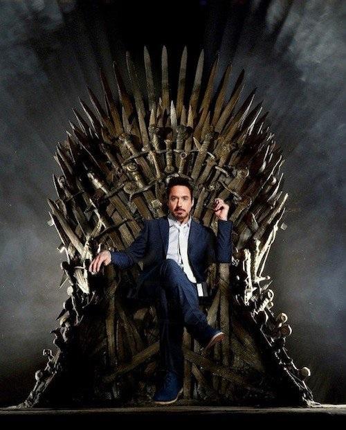 Someday a stark will sit on the iron throne nbp 1 39 s blog - Trono de hierro ...