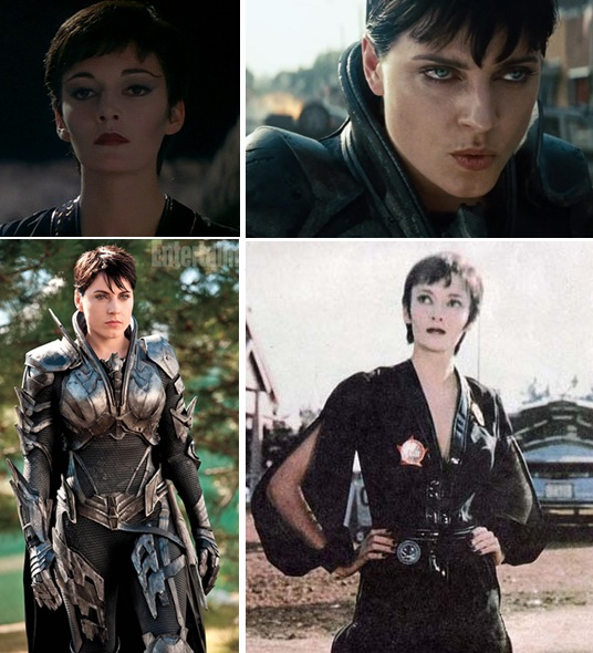 Antje Traue y Sarah Douglas - URSA - SUPERMAN