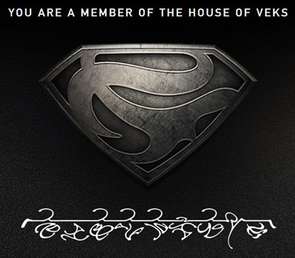 ESCUDO DE MAN OF STEEL