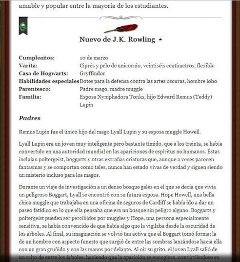 REMUS LUPIN 1