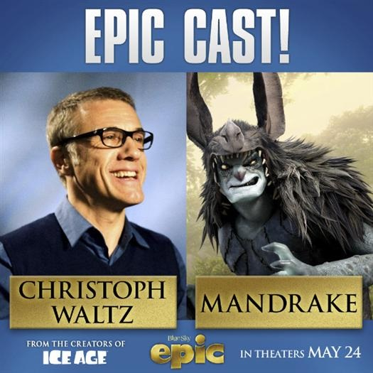 CHRISTOPH WALTZ - MANDRAKE