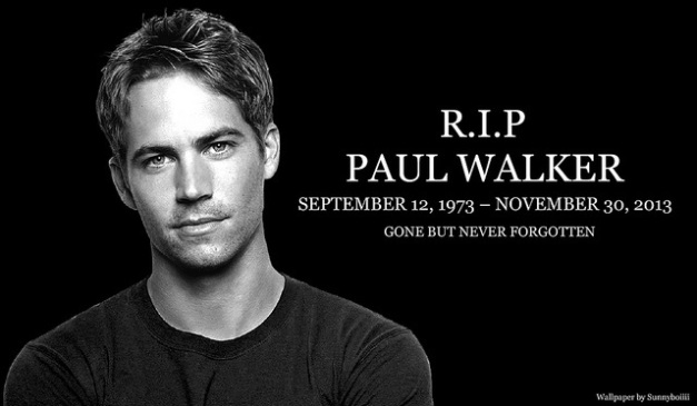 PAUL WALKER RIP