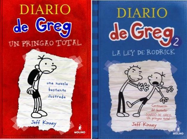 EL DIARIO DE GREG 1 Y 2