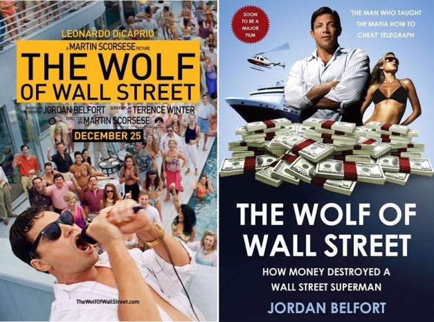 EL LOBO DE WALL STREET - LEONARDO DI CAPRIO Y JORDAN BELFORT