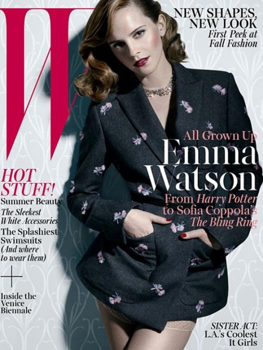 EMMA WATSON - W - 2013