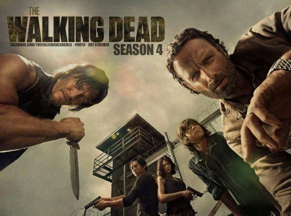 """La 4ta. temporada, parte 2 de """"The Walking Dead"""" se estrenará el 10 ..."""