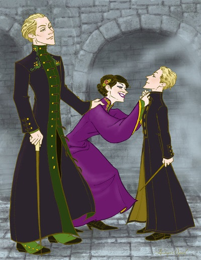 FAMILIA MALFOY GREENGRASS