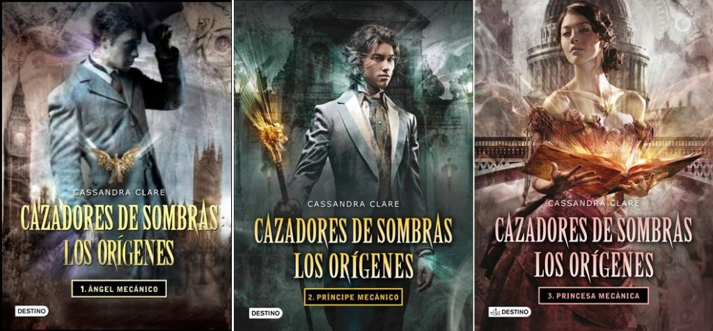 PORTADAS DE CAZADORES DE SOMBRAS - LOS ORIGENES