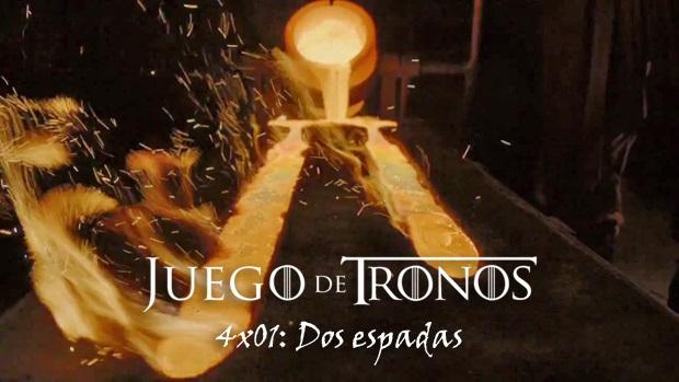 DOS ESPADAS - JUEGO DE TRONOS