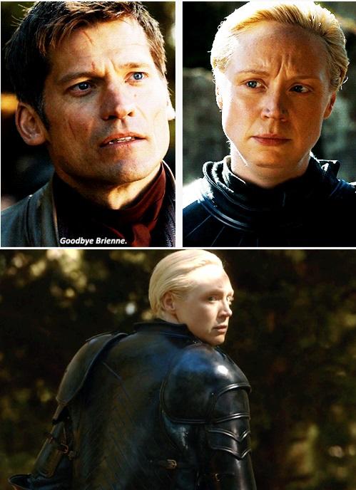 JAIME Y BRIENNE DESPEDIDA
