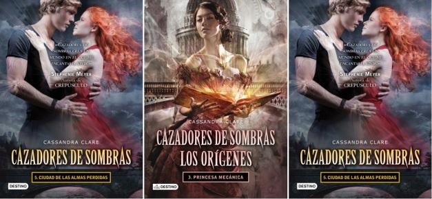 PORTADAS DE CIUDAD DE ALMAS PERDIDAS Y LA PRINCESA MECANICA