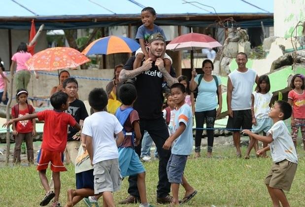 BECKHAM Y UNICEF