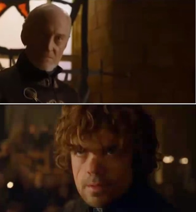 TYRION Y LORD TYWIN
