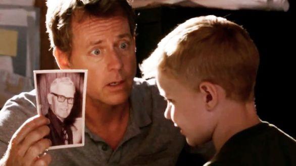 Colton y su padre