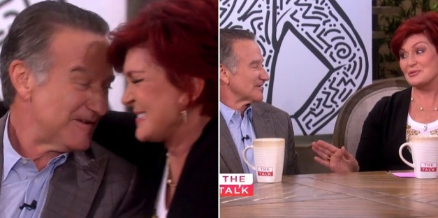 ROBIN WILLIAMS - SHARON OSBOURNE