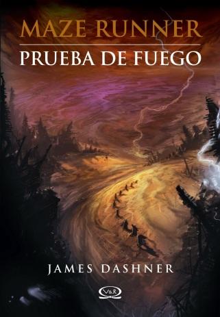 PORTADA DE MAZE RUNNER - PRUEBA DE FUEGO