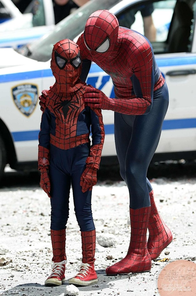 SPIDERMAN Y SPIDERMAN JR