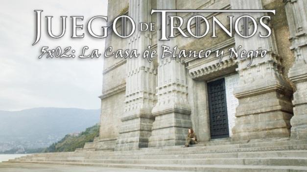 EPISODIO 2 DE 5TA. TEMPORADA - LA CASA DE NEGRO Y BLANCO
