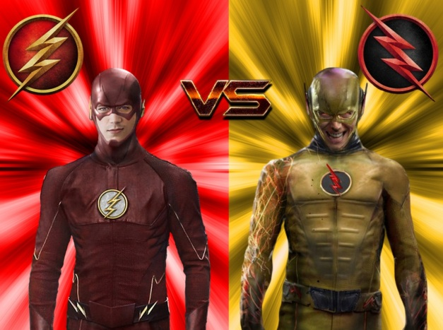 THE FLASH VS THE REVERSE FLASH