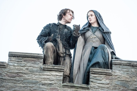 EPISODIO 10 DE 5TA. TEMPORADA - THEON Y SANSA