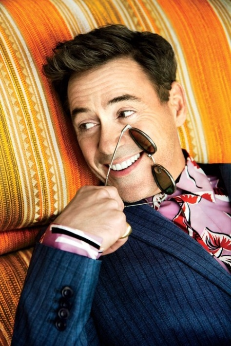 ROBERT DOWNEY JR - REVISTA GQ 1