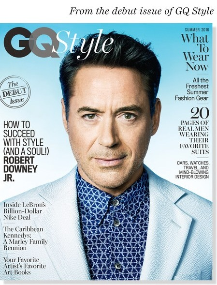 ROBERT DOWNEY JR - REVISTA GQ